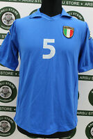 Maglia calcio ITALIA MATCH WORN shirt trikot maillot camiseta jersey