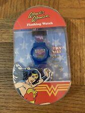 Kids Wonder Woman Flashing Watch