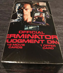 Terminator Judgement Day Trading Cards New in Package 1991
