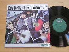 Bev Kelly - Love Locked Out LP Riverside Japan Jazz Vocals Kenny Burrell VG++/NM