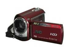 JVC Everio G HDD Camcorder GZ-MG330 35x Zoom 30GB, burgundy, unused, in box