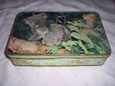 Vintage Arnott's  Koala in Gum Tree Biscuit Tin