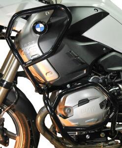 Crash Bars Pare carters Heed BMW R 1200 GS (2008 - 2012) - Full Bunker, noir