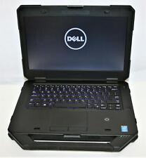"""14"""" WXGA Dell Latitude Rugged 5405 Intel i5 4th 2GHz 8GB 160SSD WiFi BT DVD FPR"""