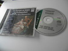 MUSIQUE AU TEMPS DE MUSIC AT THE TIME OF BEAUMARCHAIS CD GLUCK COR JADIN MOZART