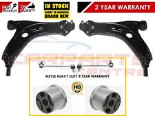 FOR VW POLO MK4 9N 2002- LOWER ARMS BALL JOINTS MEYLE HD BUSHES LINKS HEAVY DUTY