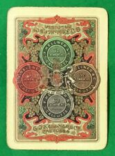 Playing Cards 1 Swap Card - Old Antique Wide G.F. KELLNER Calcutta WINES SPIRITS