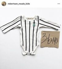 Bobo Choses stripe one piece size 3-6mo EUC