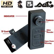 8GB Hd Spy Button Mini Button Dvr Hidden Camera