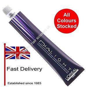 Loreal Dia Light Hair Colour L'oreal Color Tint Dye 50ml ALL COLOURS STOCKED