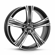 4 alloy rims ADVANTI Raccoon Black 7.5x17 VW Scirocco R (13)