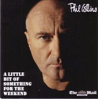 Phil Collins CD A Little Bit Of Something For The Weekend - Promo - England