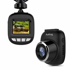 AuKing S3 Mini Full HD 1080P Car Camera Dash Cam with 168° Wide Angle, G-sensor