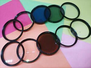 Lens Filter 49mm 52mm 55mm 58mm 62mm 67mm 72mm Multiple Functions UV Skylight ..