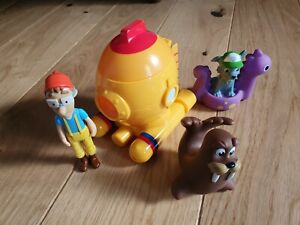 Paw Patrol Captain Turbot Diving Bell And Figure Spin Master Rare Toys