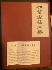 japanese Lacquerware Photo Book Brand new