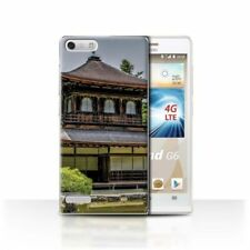 Peace Rigid Plastic Cases & Covers for Huawei Ascend G