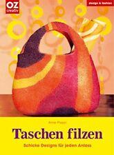 Taschen filzen * Beutel Handtasche Shopper Rucksack * OZ Verlag