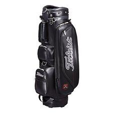 TITLEIST Golf Caddy Bag CBL61 Women Ladies 8 x 47 inch Black PU leather