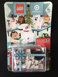 SEALED Target Lego Gift Card 2011 3 in 1 Sets Bullseye Dog Snowman Polar Bear