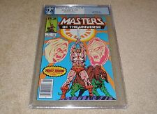 PGX 9.8 MASTERS OF THE UNIVERSE #1 (NEWSSTAND EDITION) 1ST ISSUE! HE-MAN 1986