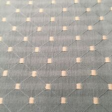 """37"""" x 54"""" John Lewis Fabric Remnant Dots On Blue"""