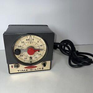 Master Time-O-Lite M-72 Darkroom Timer Photography - Vintage - Tested/Working