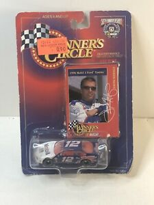 Nascar Winners Circle #12 1998 Mobil 1 Ford Taurus 1:64 Scale Diecast 50th Annvs