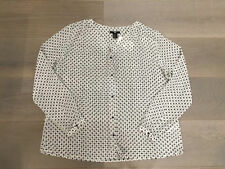 H&M Polyester Long Sleeve Regular Tops & Blouses for Women