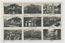 AK Salzburg - Mehrbild 1940  (Y866)