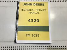 4320 John Deere Technical Service Shop Repair Manual