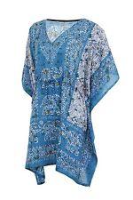 Elephant Print Women's Kaftan,Short length dress Boho Caftan Beach wear Dress