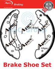 Apec BRAKING Recambio 254mm x 52mm Zapatas de freno tambor Set shu637 (con