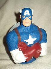 Marvel Coin Bank Moneybox Captain America 7 inch