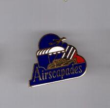 Pin's  Avion / Airscapades (école paramoteur de Corse) EGF