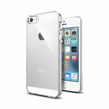 Genuine Spigen thin Fit Slim Cases Clear Cover For Apple iPhone Se 5s 5