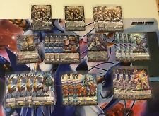 Cardfight Vanguard Card Lot - V Series  Genesis (202 Cards + 5 Gifts)