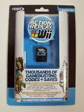 Official Datel Action Replay for Nintendo Wii BRAND NEW Codes & Saves +USA+