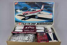 ZF004 Nichimo rare avion kit vintage S-2001 1/20 RC FUJI FA-200 AEROSUBARU