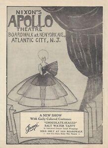 "Helen Menken ""LILY WHITE""  Nixon's Apollo Theatre '30 FLOP Atlantic City Program"