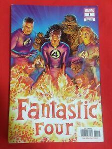 Fantastic Four #1 Mexican Edition Alex Ross 1:50
