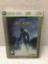 JEU XBOX LOST PLANET EXTREME CONDITION COFFRET METAL X2 CD MICROSOFT NOTICE