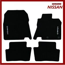 Genuine Nissan Qashqai 2014 - Onwards Luxury Velour Carpet Car Floor Mats x4 New