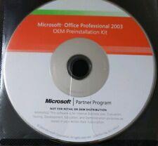 Oem Msoffice 2003 Professional