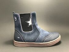New Arrival $80 LAMINO Kids Girls Waterproof LEATHER Boots Size 1 US / 32 EURO