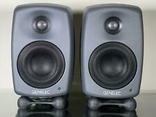 More details for pair of genelec 8320a sam workstation studio monitors (mint & boxed) worth £850