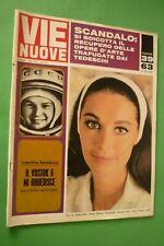 Voies Neuf 1963 Anna Maria Pietrangeli + Valentina Tereskova Vostok 6 + Alberto