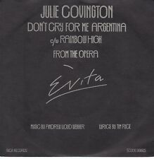 7inch JULIE COVINGTON don't cry for me argentina HOLLAND EX (S1803)