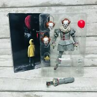 """Neca IT Chapter 2 Ultimate Pennywise 7"""" Action Figure Boxed *Damaged*"""