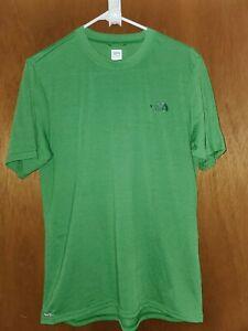North Face Vapor Wick Shirt Green Mens Small